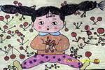 甜樱桃儿童画