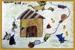 鼠猫之战儿童画