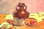 陶罐儿童画图片