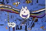 动物音乐会儿童画2幅