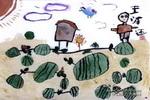 爪农儿童画图片