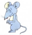老鼠简笔画图片大全