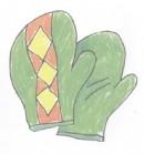 手套简笔画图片教程