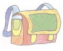 小学生书包简笔画图片教程