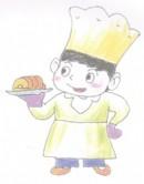 厨师简笔画图片教程