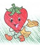 如何画草莓简笔画图片教程