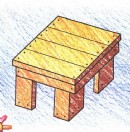 板凳简笔画图片教程