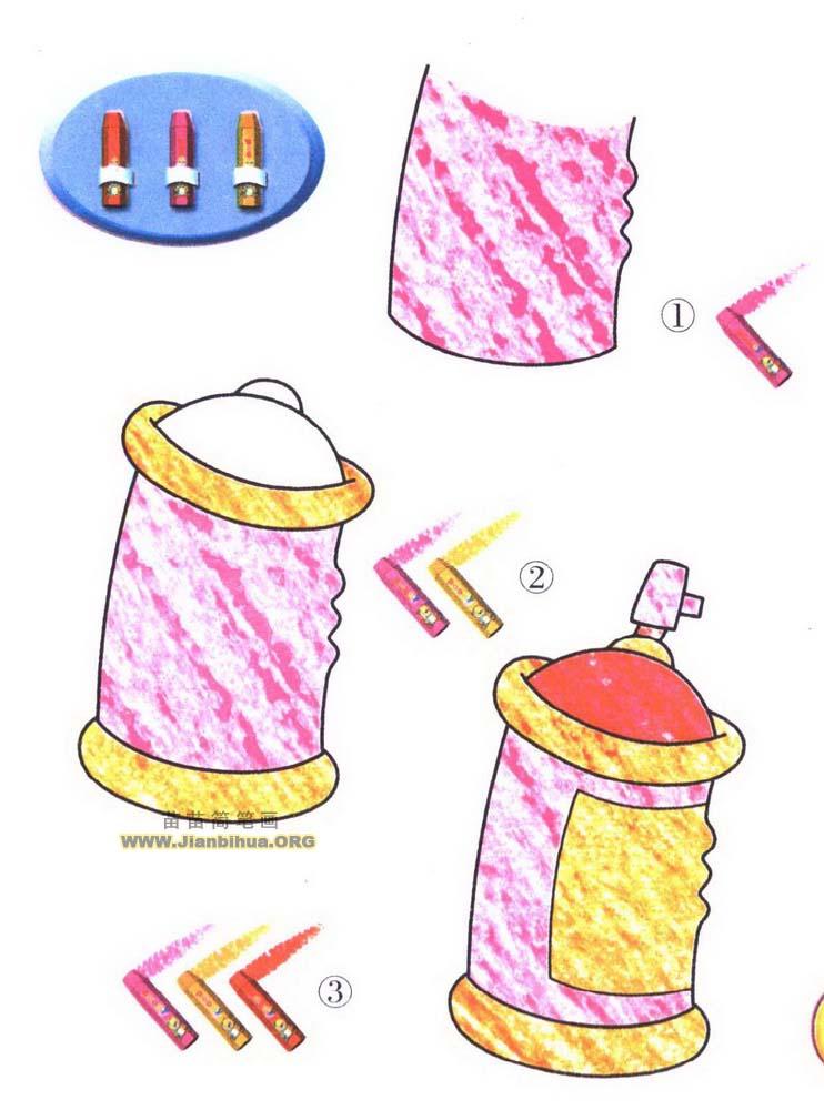 喷雾器简笔画图片