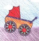 儿童车简笔画图片教程