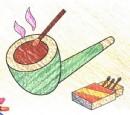 烟斗简笔画图片教程