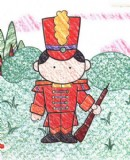 英国士兵简笔画图片教程