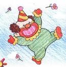 如何画小丑简笔画图片教程
