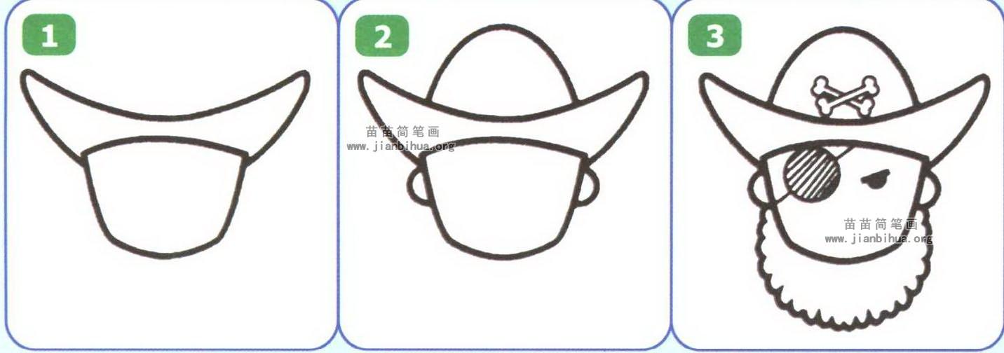 五官卡通嘴巴简笔画