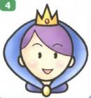 皇后简笔画图片大全(2个教程)