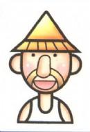 农民伯伯简笔画图片大全(2个教程)