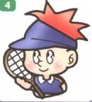 网球运动员简笔画(3个教程)