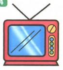 电视简笔画图片大全(4个教程)