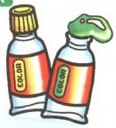 水彩颜料简笔画(2个教程)