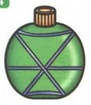 军用水壶简笔画(2个教程)