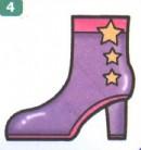 女式靴子简笔画画法图解