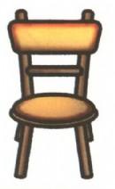 椅子简笔画画法图解