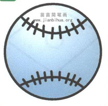 棒球简笔画