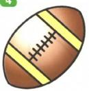 橄榄球简笔画如何画教程