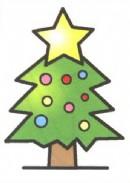 圣诞树简笔画怎么画图解