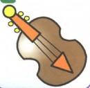 小提琴简笔画怎么画图解