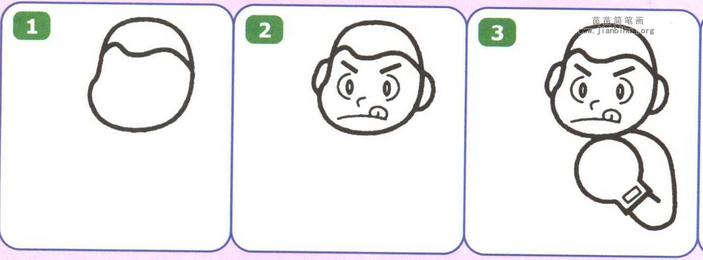 综合类简笔画 体育简笔画  关于拳击运动的资料: 拳击是戴拳击手套