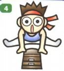 体操运动员简笔画图解