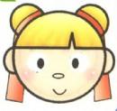中国娃娃头像简笔画图解