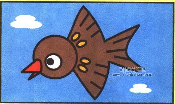 动物简笔画 鸟类简笔画