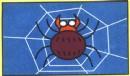 蜘蛛网里的蜘蛛简笔画图解