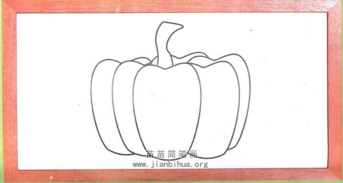 南瓜简笔画