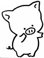 小猪简笔画图片与知识