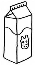 牛奶简笔画图片与知识