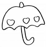 雨伞简笔画图片与知识