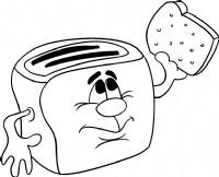 面包机简笔画图片教程