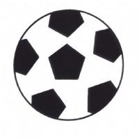 足球简笔画怎么画
