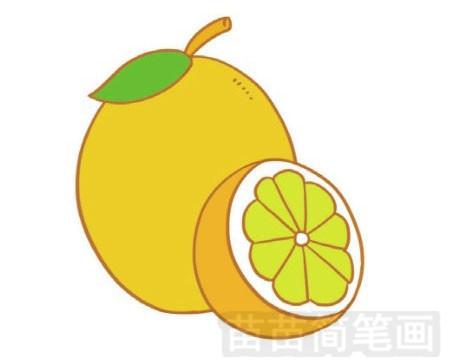 柠檬简笔画图片大全作品一