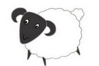 绵羊简笔画怎么画、图片大全