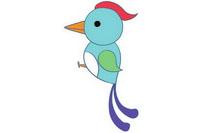 啄木鸟简笔画彩色图片大全、教程