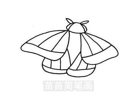 飞蛾简笔画大图