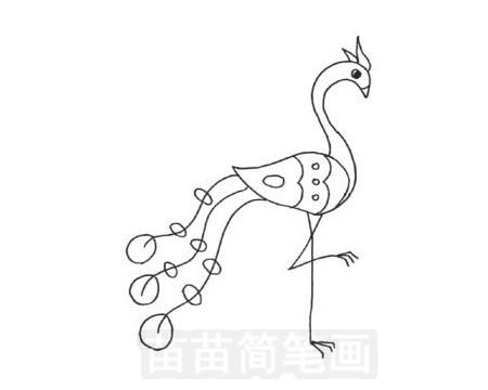 凤凰简笔画图片大全作品五
