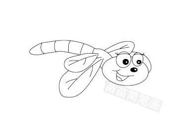 蜻蜓简笔画图片大全作品五
