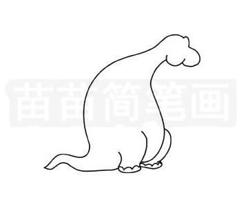 食草龙简笔画图片步骤二