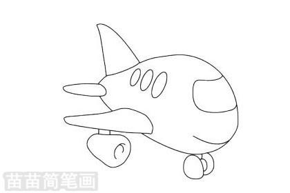 玩具飞机简笔画图片大全作品二