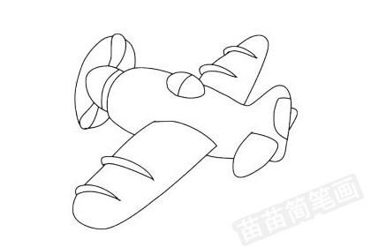 玩具飞机简笔画图片大全作品四