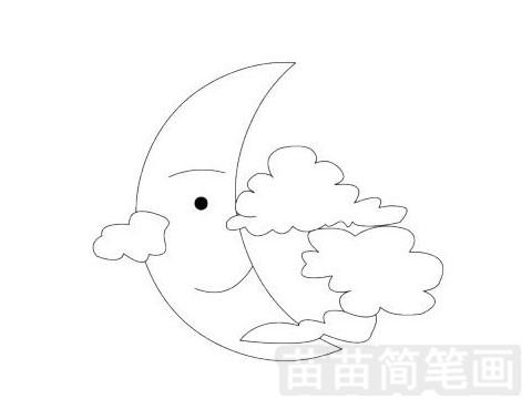 中秋节简笔画图片大全作品一